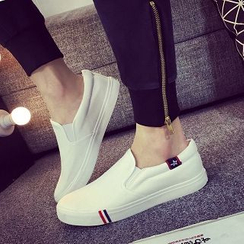Solejoy - Canvas Couple Slip-On Sneakers