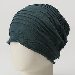 GRACE - Striped Knit Watch Cap