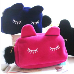Showroom - Cat Face Make up Pouch