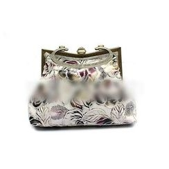 Glam Cham - Floral Embroidered Clutch