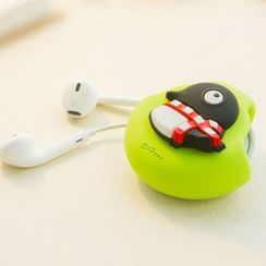 LIFE STORY - Animal Silicon Earphone Case - Penguin