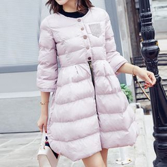 Queen Bee - Padded Coatdress