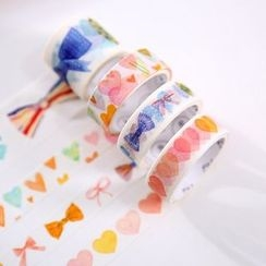 Homey House - Set of 4: Printed Masking Tape