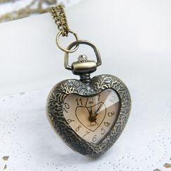 Crocosmia - 心心口袋手錶
