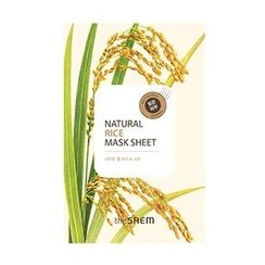 The Saem - Natural Rice Mask Sheet 1pc