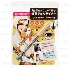 BCL - Makemania Data 24 小时持久防水眼线笔 (深啡色)