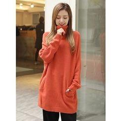 BBAEBBAE - Wool Blend Turtleneck Sweater
