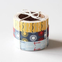 LIFE STORY - 'Daily Like' Series Decorative Tape Set (3 pcs) - SAILING