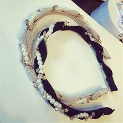 Azalea - Faux Pearl Hair Band
