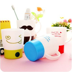 Good Living - Printed Toothbrush Cup