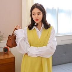 PPGIRL - Cotton Loose-Fit Shirt