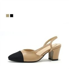 MODELSIS - Sling-Back Pumps