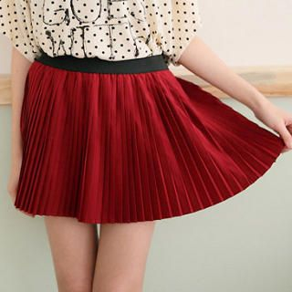 CatWorld - Accordion-Pleat Skirt