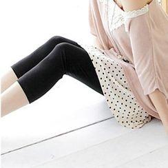 Tokyo Fashion - Inset Dotted Skirt Leggings