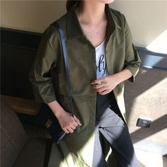 Chililala - 3/4-Sleeve Trench Jacket