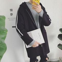 JUN.LEE - Hooded Long Jacket