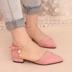 IYATO - Pointy-Toe Block Heels