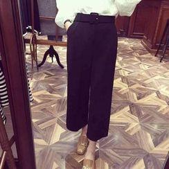 QZ Lady - Wide Leg Dress Pants