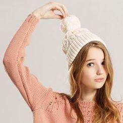 Life 8 - Knit Pompom Beanie