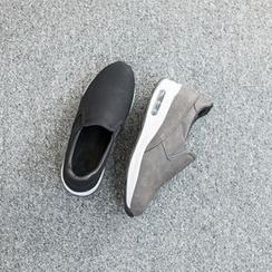 VIVIER - Platform Heel Slip-Ons