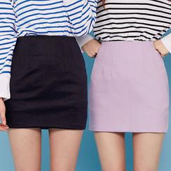 chuu - Pencil Mini Skirt