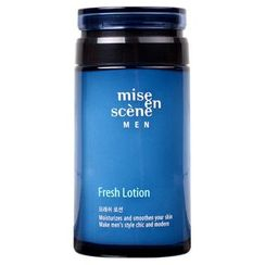 miseenscéne - Men Oil Free Fresh Lotion 140ml