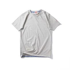 Chuoku - Plain Short Sleeve T-Shirt