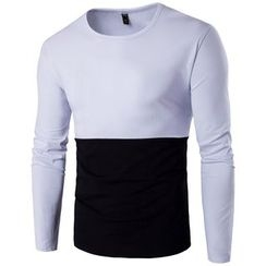 Fireon - Two-Tone Long-Sleeve T-Shirt