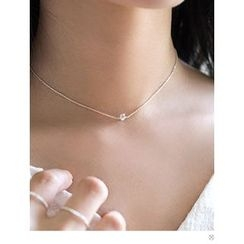 PINKROCKET - Rhinestone Necklace