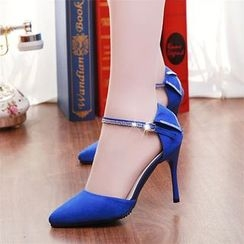 YIVIS - Ankle Strap Pumps