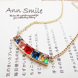 AnnSmile - Gem Short Necklace