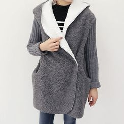 DANI LOVE - Hooded Fleece-Lined Jacket