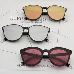 Oulaiou - Colored Lens Sunglasses