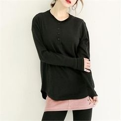 GLAM12 - Long-Sleeve Henley