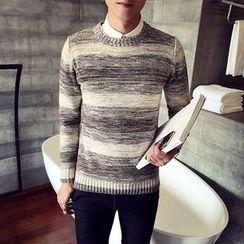 Harvin - Melange Gradient Sweater