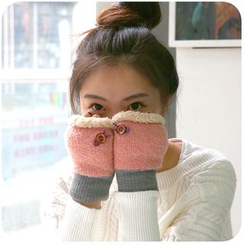 Momoi - Knit Gloves