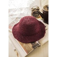 GOROKE - Wool Blend Knit Bucket Hat