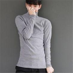 Smallman - Turtle-Neck T-Shirt