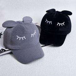 Buttercap - Family Matching Ear-Accent Embroidered Baseball Cap