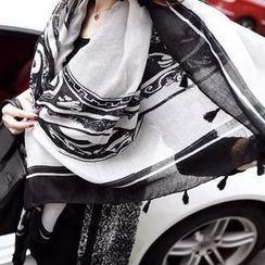 Sisi Fashion - 哥德式印花圍巾