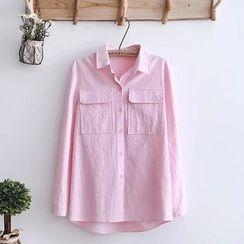 Tangi - Pocketed Shirt