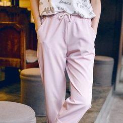 Wimi girls - Cropped Drawstring Pants