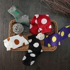 ELF SACK - Set of 5: Dotted Socks