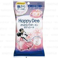 Mandom 漫丹 - Happy Deo Body Sheet (Floral)