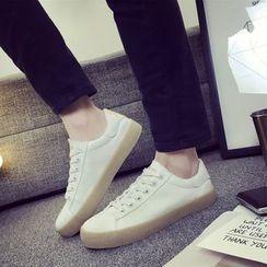 HOKK - 印花帆布休閒鞋