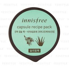 Innisfree - Capsule Recipe Pack (Sleeping Pack) (Bija & Aloe )