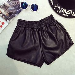 RUI - Faux Leather Shorts