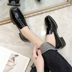 Charming Kicks - Patent Loafers
