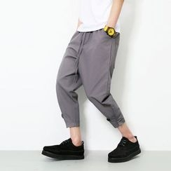 Bay Go Mall - Plain Capri Pants