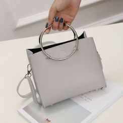 Diamante - Round Hand Mini Tote